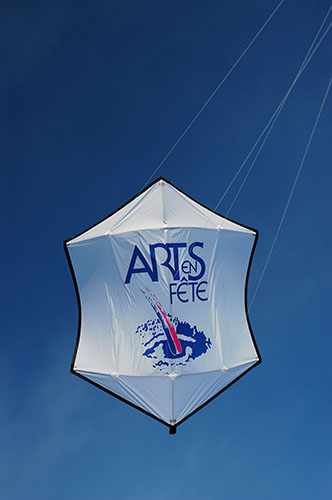 Promotional kites - Banners